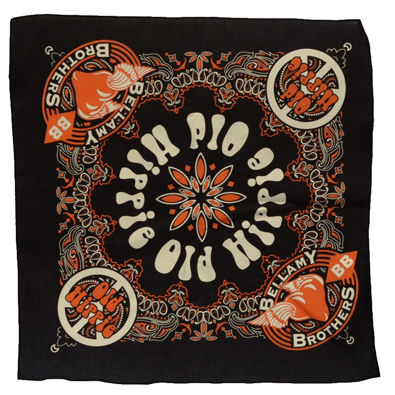 Bellamy Brothers Old Hippies Bandana