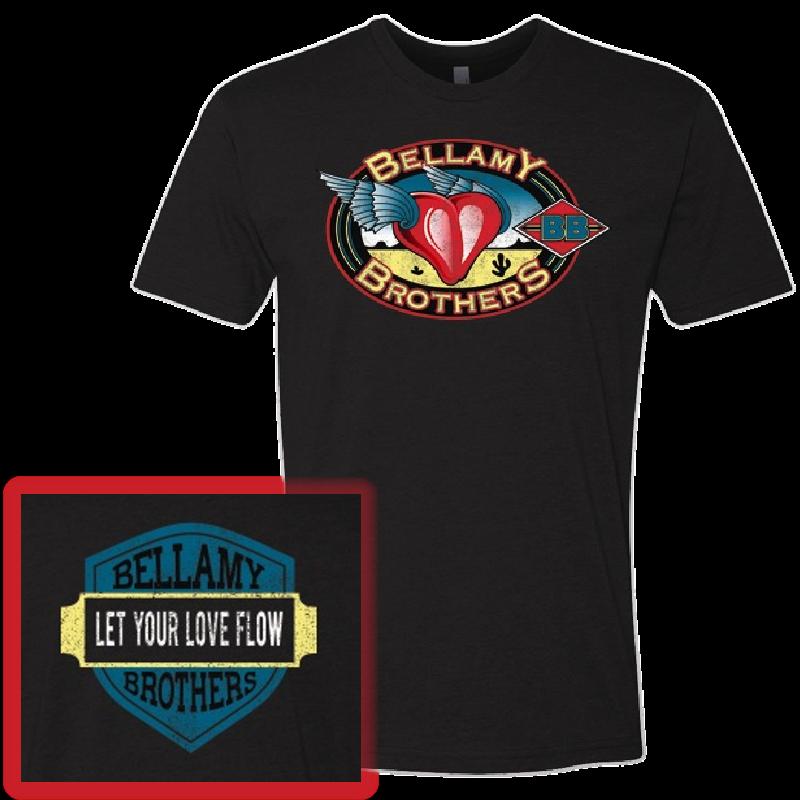 Bellamy Brothers Black Logo Tee