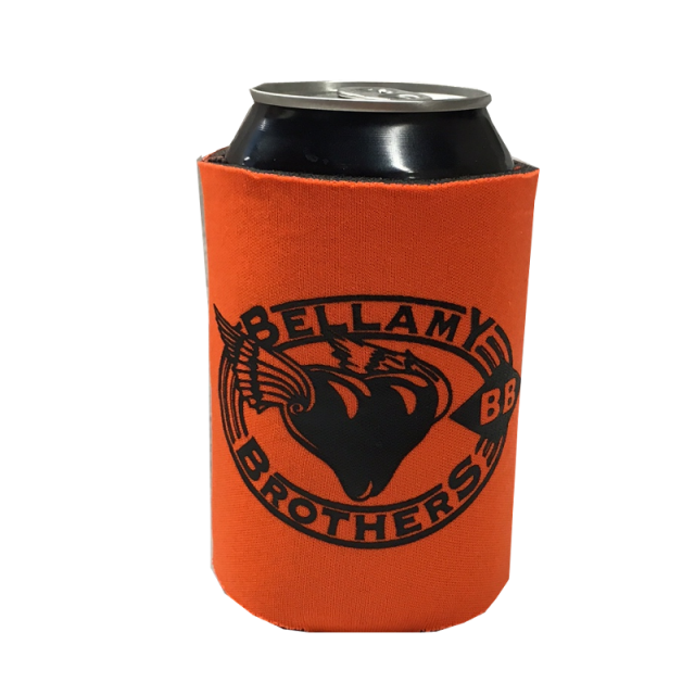 Bellamy Brothers Orange Koozie